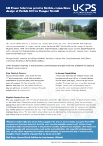 Pebble Mill case study