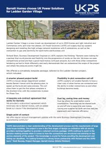 Ladden Garden Village - UKPS case study