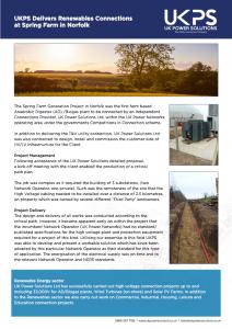 Spring Farm UKPS case study