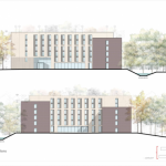 Pebble Mill dual lay student accommodation
