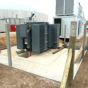 Renewable energy substation installation