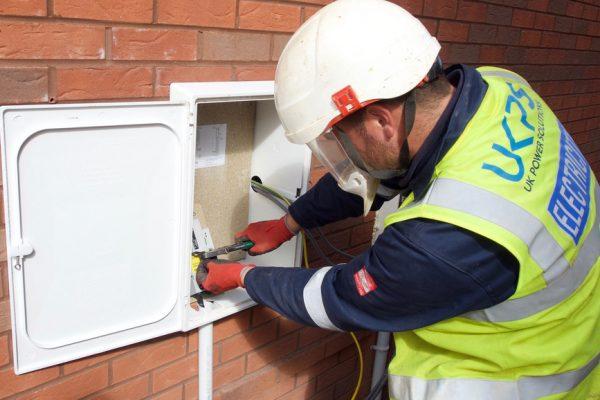 meter box install